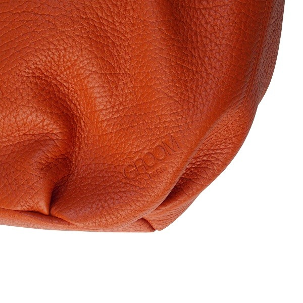 Sac Purse PM Orange de la marque Groom