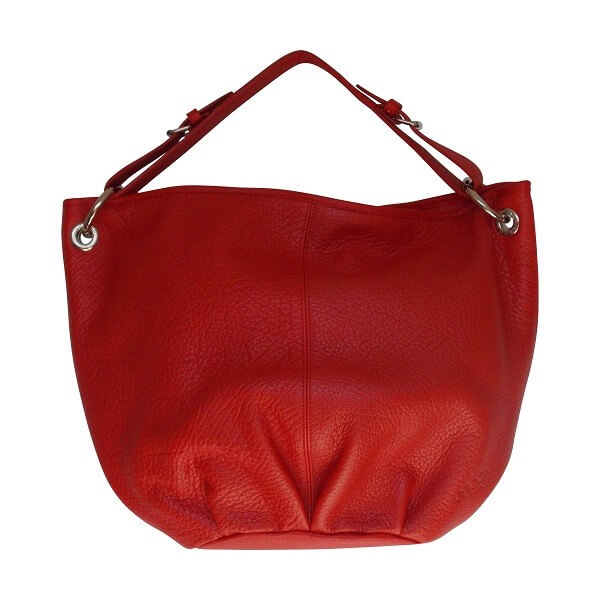 Sac Purse PM rouge de la marque Groom Paris