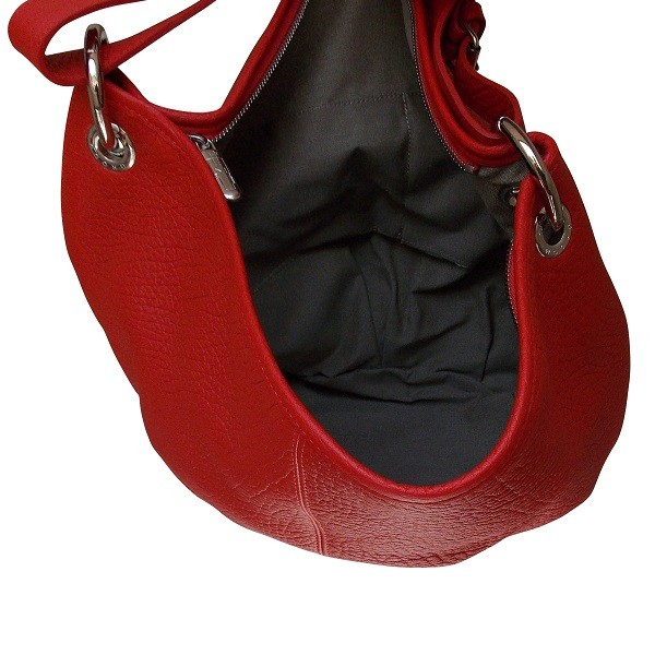 Sac Purse PM rouge de la marque Groom