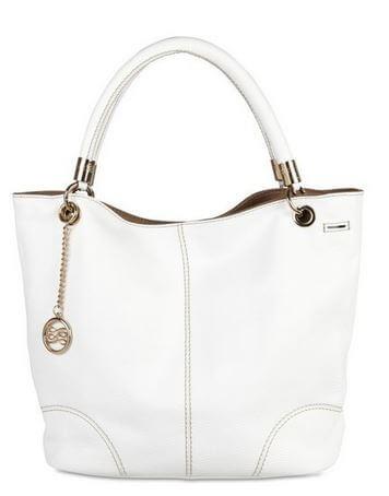 sac blanc Lancel